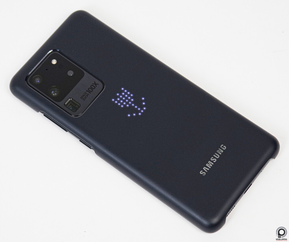 The S20 Ultra protects the LED case