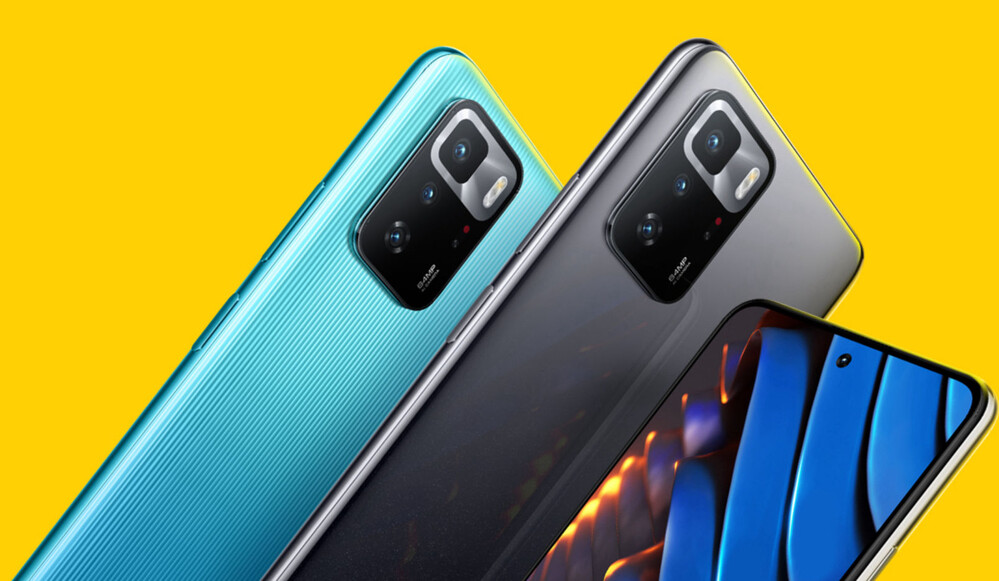 The official render of the Poco X3 GT