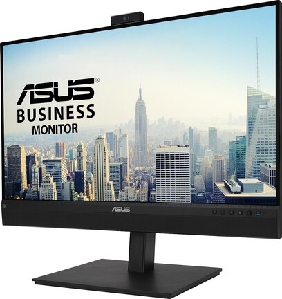 ASUS BE27ACSBK with built-in webcam, microphone and USB hub for video conferencing