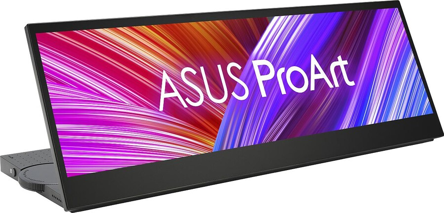 ProArt PA147CDV - portable widescreen display with calibrated panel and ASUS Dial