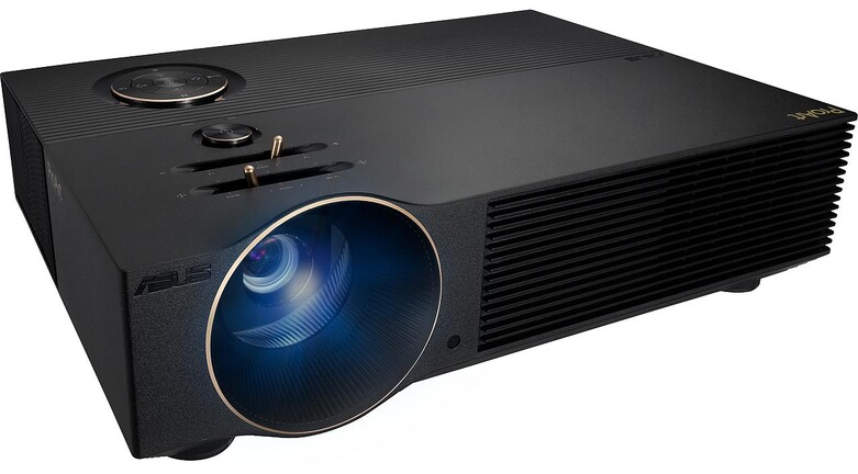 ProArt A1 projector, world's first Calman Verified certified, DeltaE <2 color fidelity and 98% sRGB