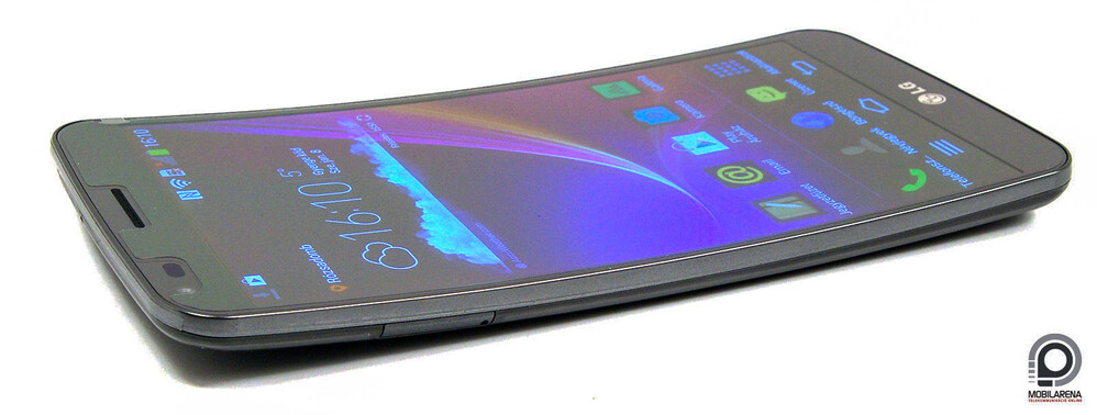 The LG G Flex was quite a bit bendable, so it wore pretty much traditional protective glass