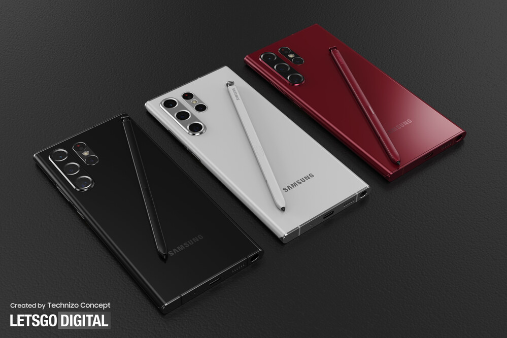 The S22 Ultra, as Letsgodigital expects